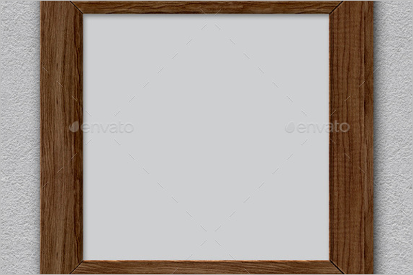 Wooden Antique Frame Template