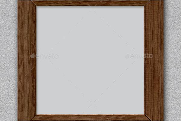 WoodenAntique Frame Template