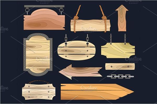 Wooden Banner Photo Frames