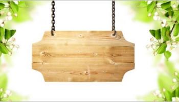 Wooden Banner Templates