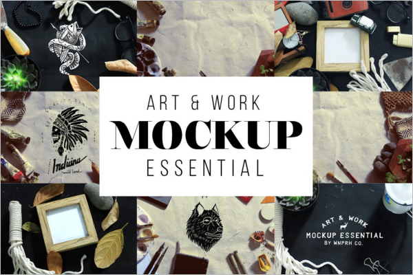 Work Essential Display Mockup