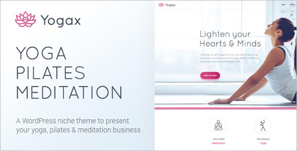 Yoga Class WordPress Theme