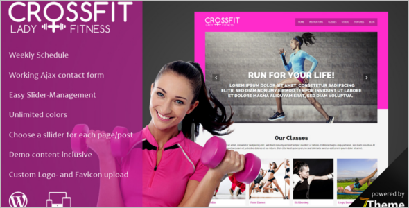 Yoga Instructor WordPress Theme