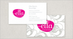 72+ Fashion Business Card Designs