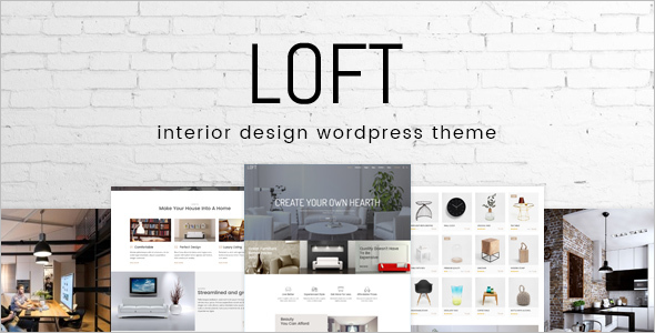 flexible Interior Design WordPress Theme
