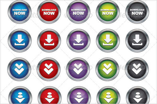 28 download button designs templates free premium for Design a button template free