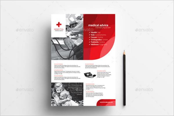 A4 Hospital Poster Design