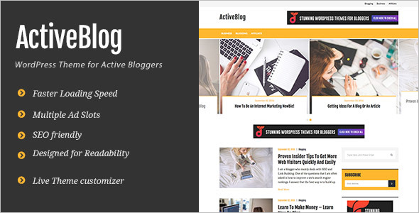 Ad Optimized WordPress Theme