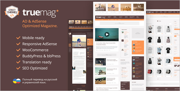 AdSense Magazine WordPress Theme