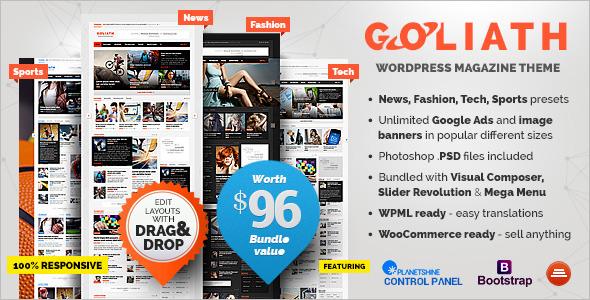 Ads Optimized WordPress Theme