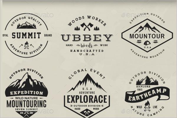 Adventure Badge Design Model