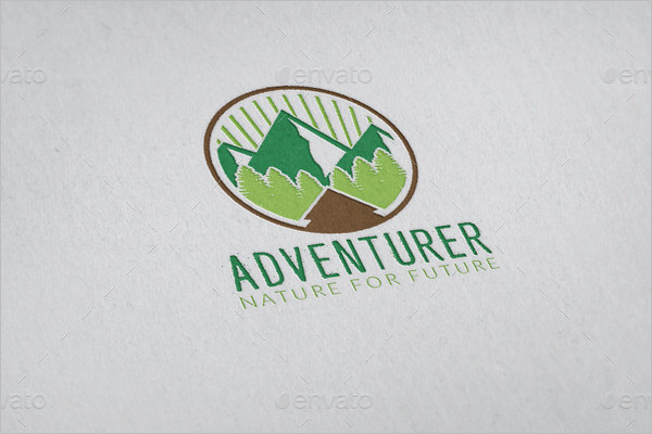 Adventure Logo Object Design