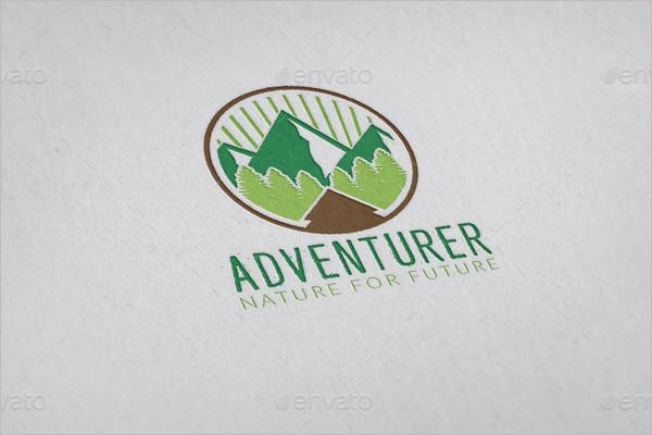Adventure Logo Object Design