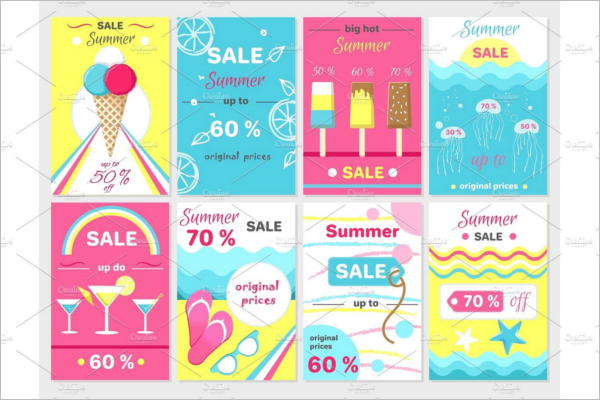 Advertisement Ice Cream Banner Design
