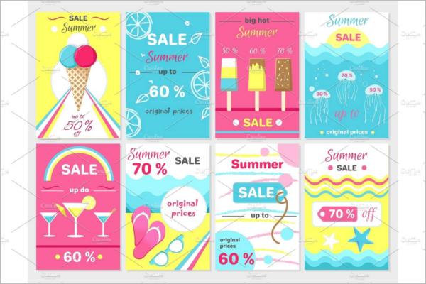 Advertisement Ice Cream Banner Design