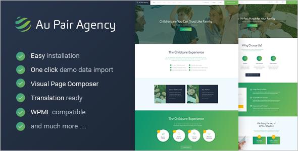 Agency BuddyPress Theme