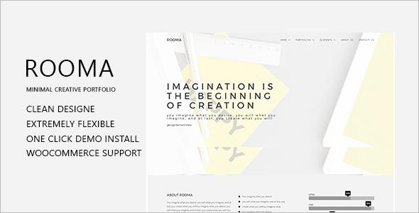 Agency Portfolio WordPress Theme