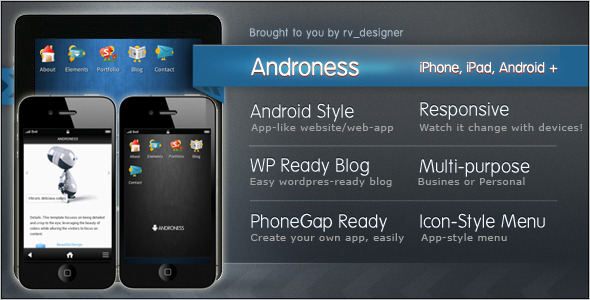 Android Mobile Template