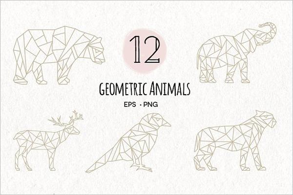 Animal EPS Tattoo Design
