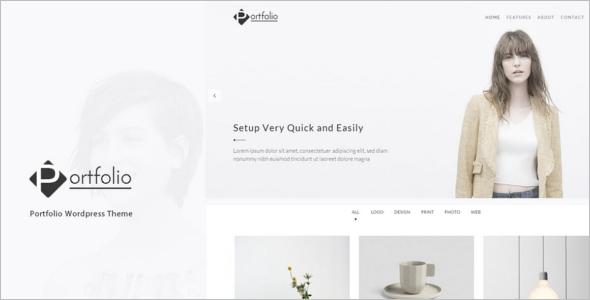Artist Portfolio WordPress Theme