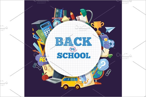 Back to School Logo Background