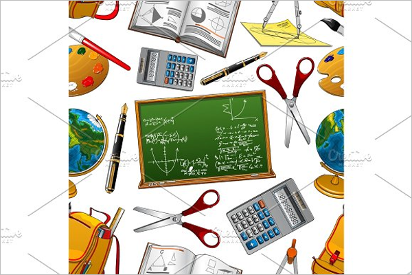 Back to School Stationery Elements