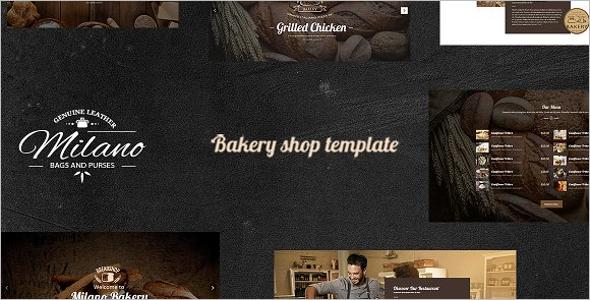 Bakery Food WordPress Theme