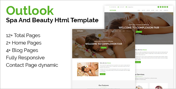Beauty Fitness HTML Template