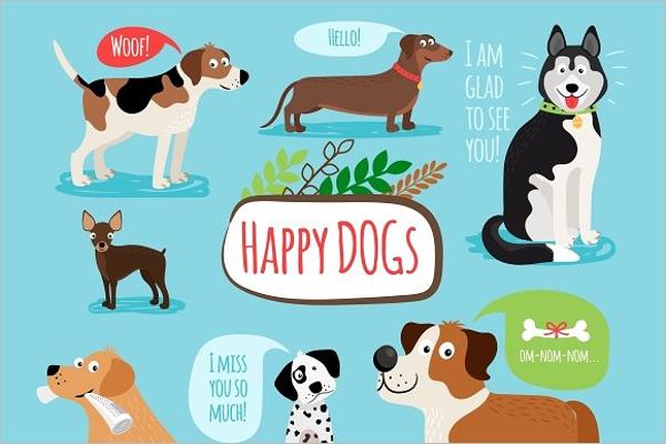 Best Cartoon Dog Template