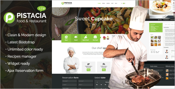 Best Chef WP Theme