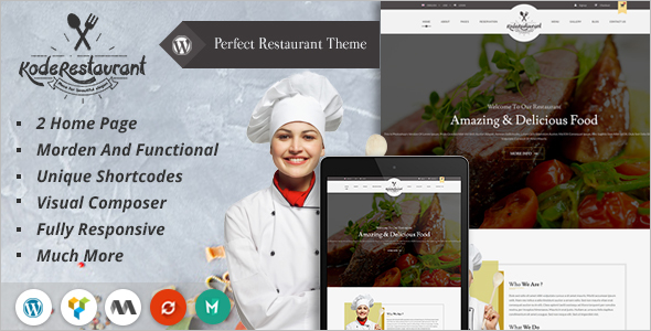 Best Chef WordPress Theme