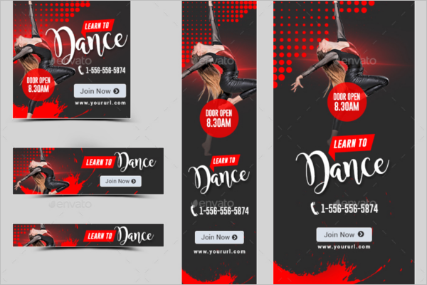 Best Dance Banner Template