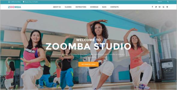 Best Dance Studio WordPress Theme