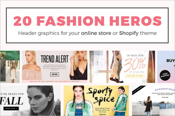 Best Fashion Banner Design