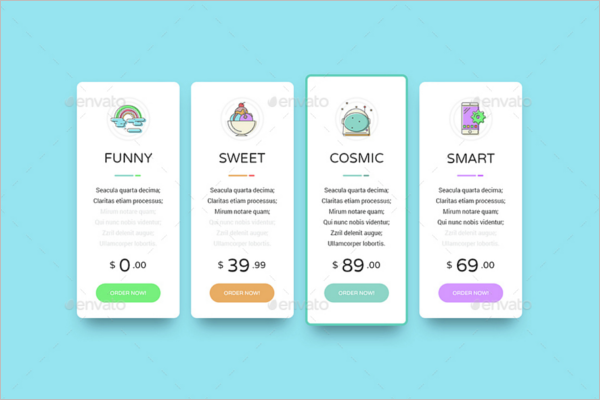 Best Funny Pricing Table Design