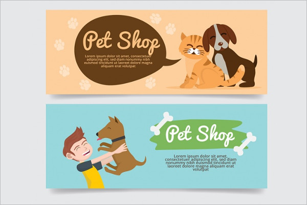 Best Pet care Banner Design