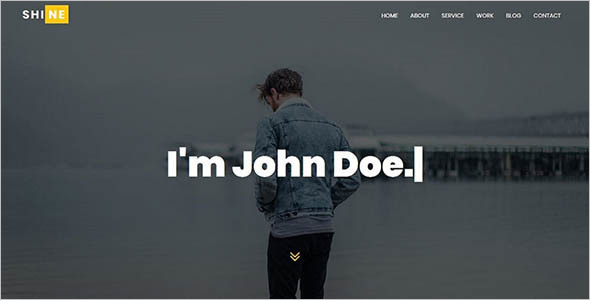 Best Portfolio HTML Template