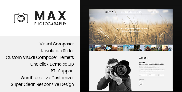 Best WordPress Photographer Theme