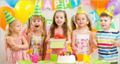 Birthday Party Illustrations Templates