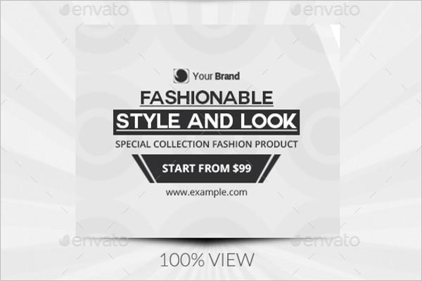 Black & White Fashion Facebook Cover
