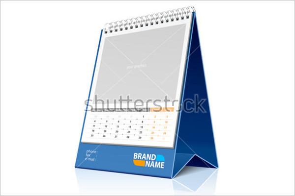 Blank Calendar Sample Template