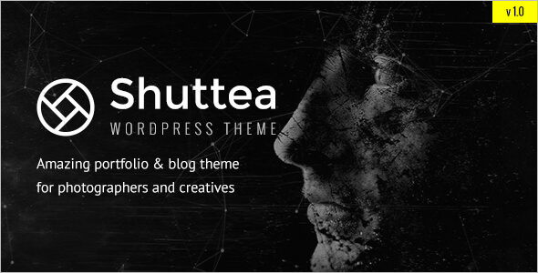 Blog WordPress Theme for Photographers