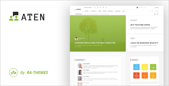 BuddyPress Tutorial WordPress Theme