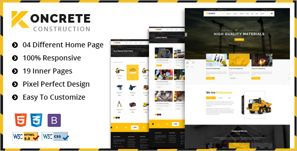 Building Construction HTML5 Template