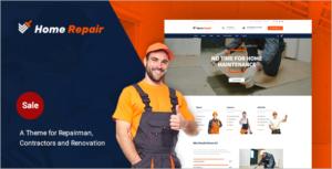 Building & Maintenance Service WordPress Theme