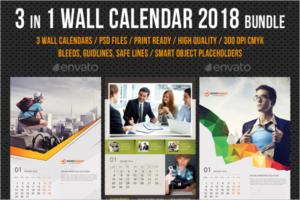 Business Calendar Bundle Template