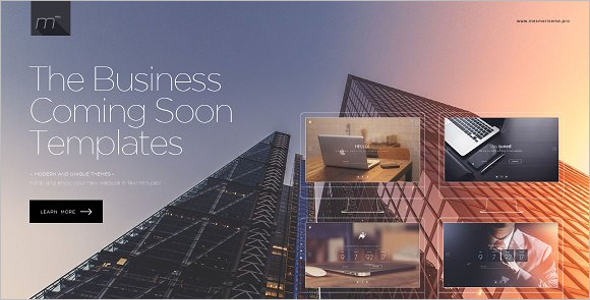 Business Coming Soon Template