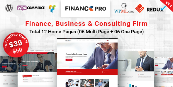 Business & Consulting WordPress Theme