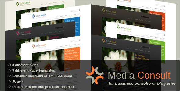 Business Portfolio PHP Theme