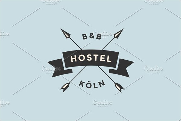 Business Typography Badge Template